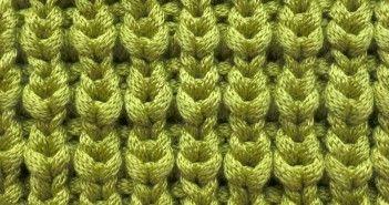 How to Knit * Quarter Brioche - video