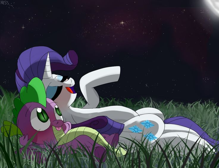 Rarity+and+Spike+by+MissPolycysticOvary.deviantart.com+on+@DeviantArt