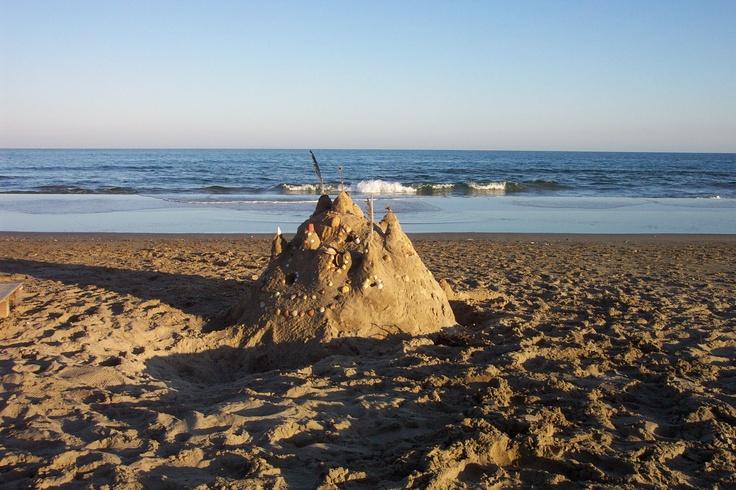 Sandcastle / Languedoc,  France