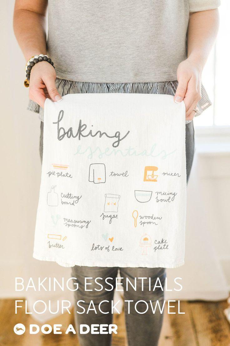 Baking Essentials Flour Sack Towel