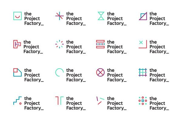 The Project Factory on Behance — Designspiration