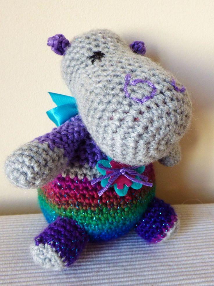 Doudou hippopotame : Loukoum