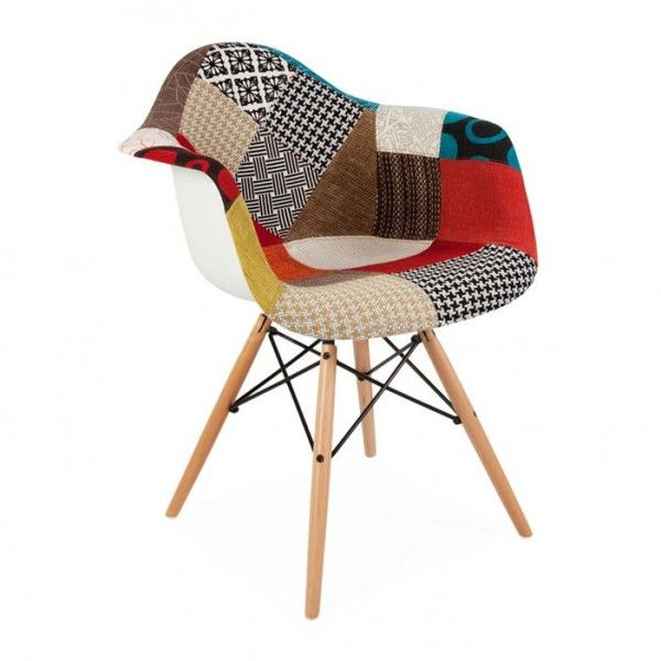 Chaise Patchwork Eames - 139€