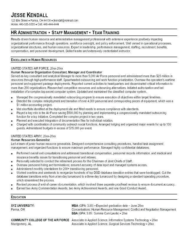 Military Veteran Resume Examples Army Resume Example Military Veteran This Is Builder To Civilian Templ Resume Examples Human Resources Resume Recruiter Resume
