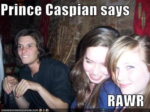 RAWR! I love chronicles of narnia!!!! Prince caspian