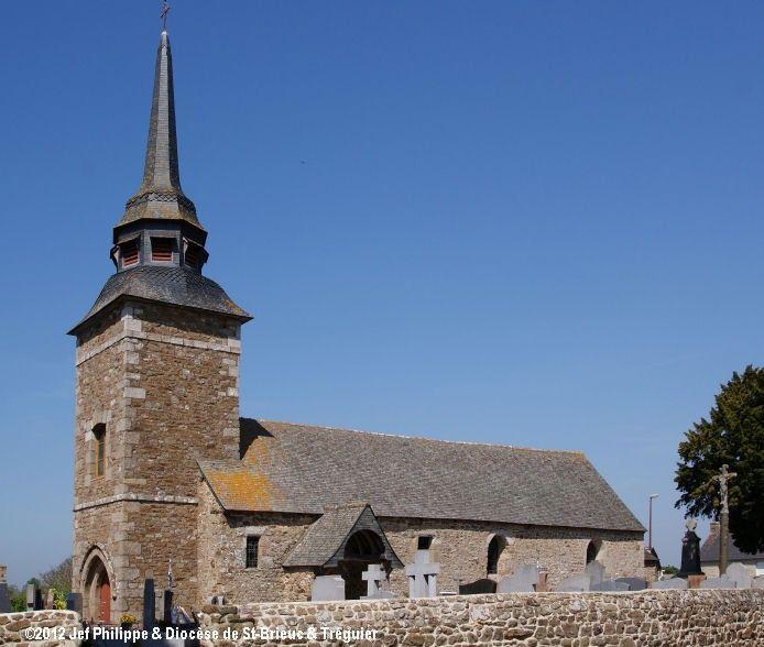 Église St-Louis, à Tréguenestre-en-Meslin.