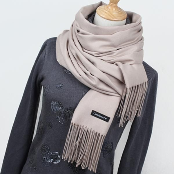 Hot sale Scarf Pashmina Cashmere Scarf Wrap Shawl Winter Scarf Women's Scarves Tassel… #BlackFriday is coming early #BestPrice #CyberMonday