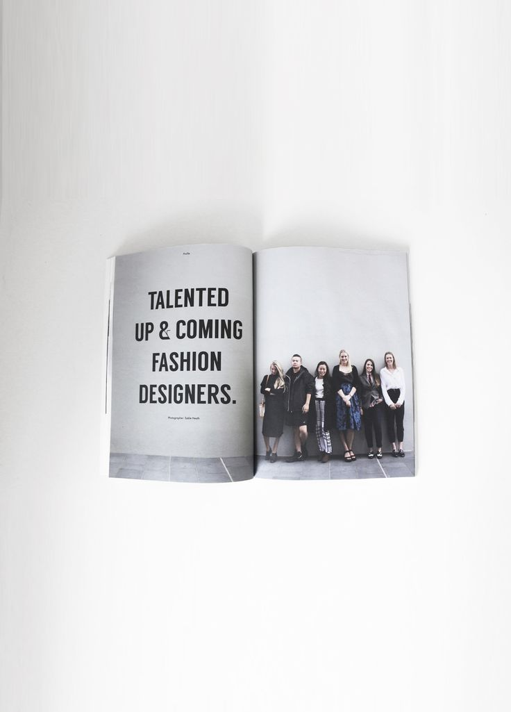 Profile: Talented Up & Coming Fashion Designers: Volume 2 | @vanemagazine #graphicdesign #publication