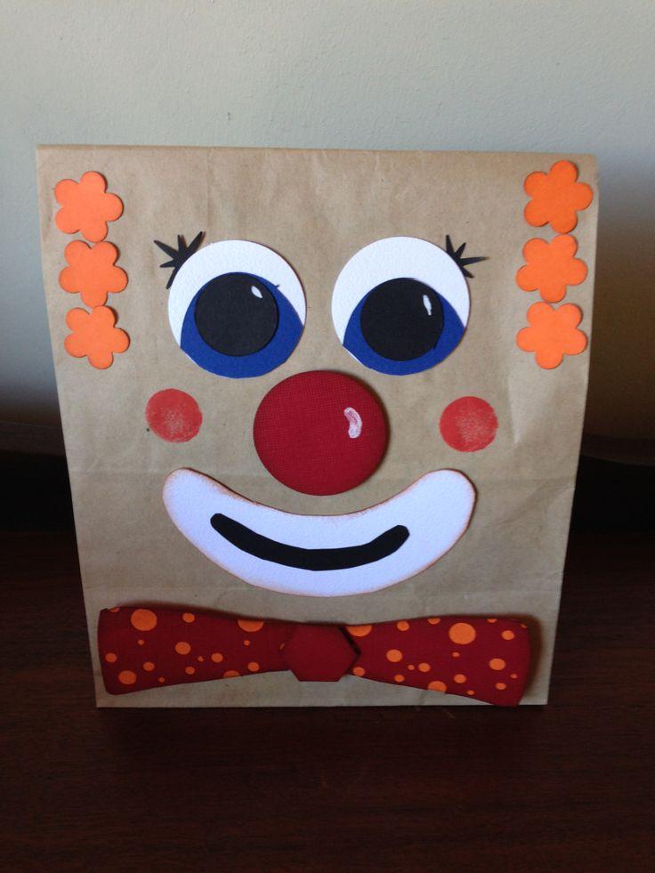 clown treat bag