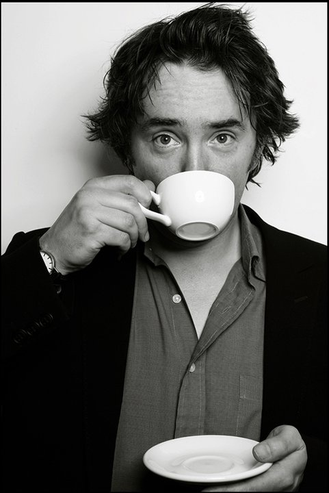 Dylan Moran.... Irish + cynical + somewhat angry + intelligent  + crazy hair = one of the funniest people ever!