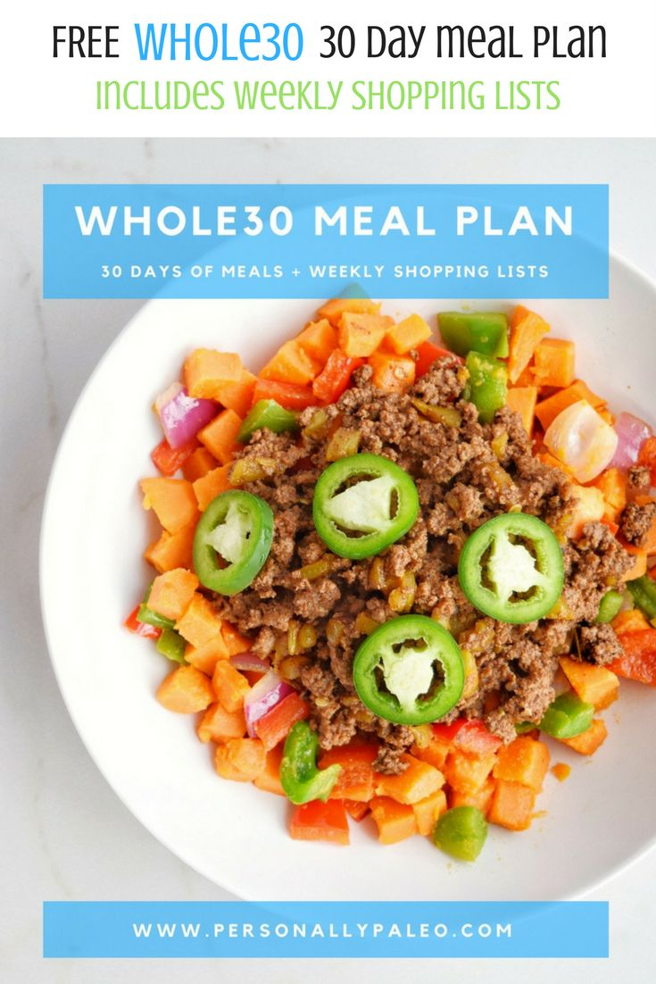 Whole 30 Diet