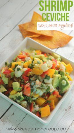 Recipe | Shrimp Ceviche - Weed 'em & Reap