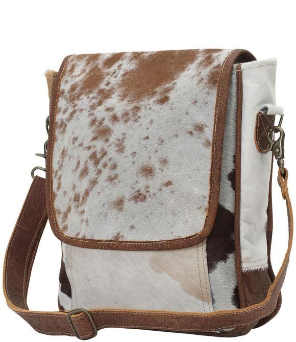 Crossbody Handbag Sling Bag Bags Faux Cowhide Enter now in hair on hide leather: crossbody handbag sling bag bags