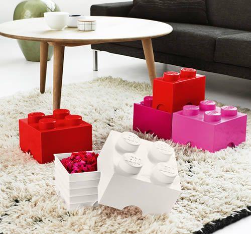 Giant LEGO Brick Storage Box - Small - Toy Boxes | Lego Storage Boxes | Hand Painted Toy Boxes