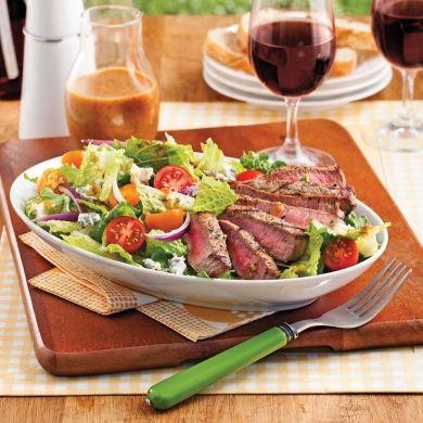Biftecks grillés à la méditerranéenne - Recettes - Cuisine et nutrition - Pratico Pratique