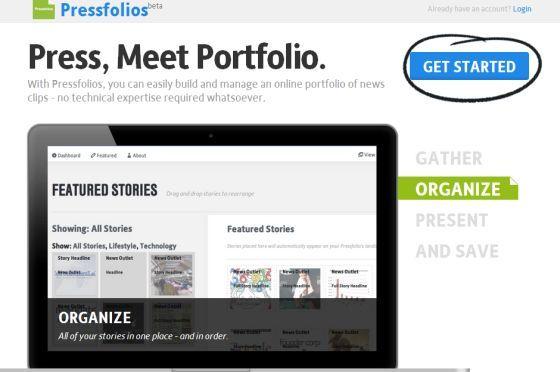 Cinco sitios gratuitos para que un periodista construya su portafolio online