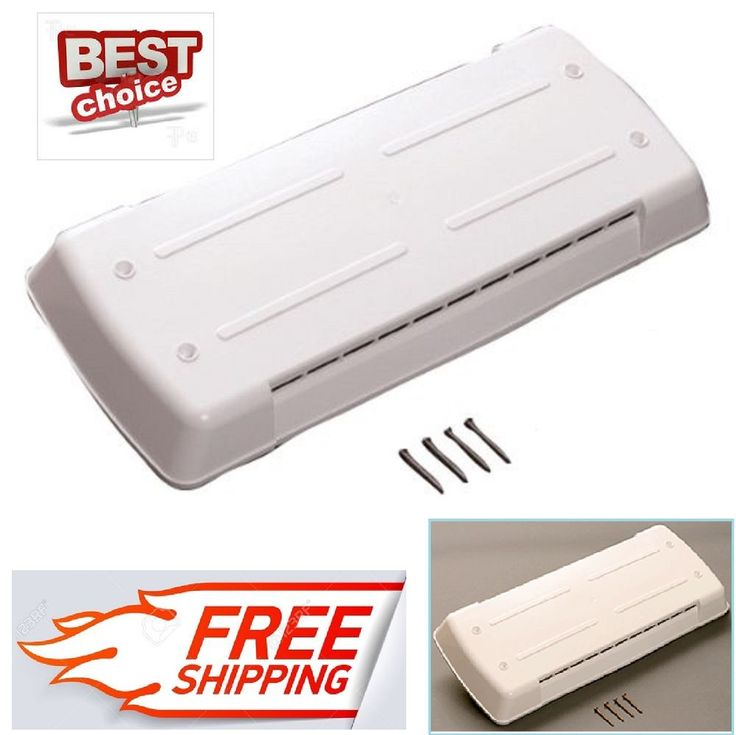 Dometic Refrigerator RV Roof Vent Lid Polar White Cover Trailer Replacement Part #Ventmate