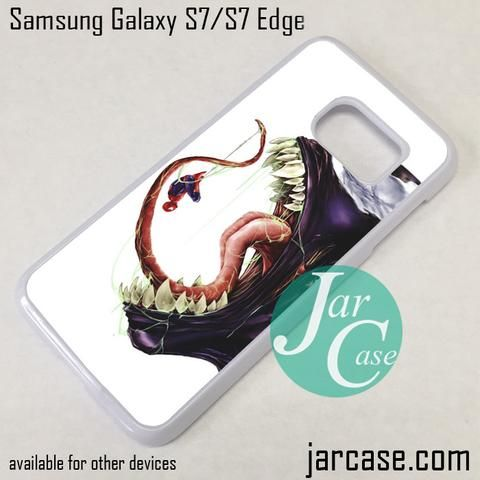 Venom Eating Spiderman Phone Case for Samsung Galaxy S7 & S7 Edge