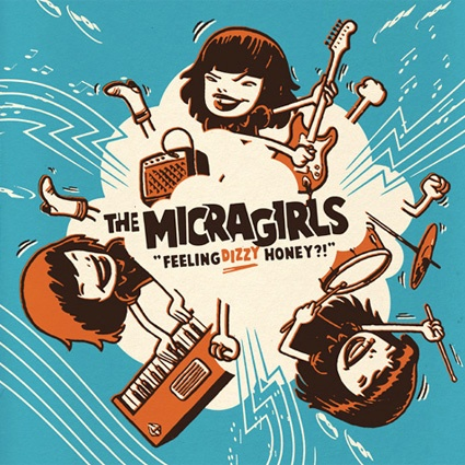 Album covers for The Micragirls. Design by Sami Vähä-Aho 2006.