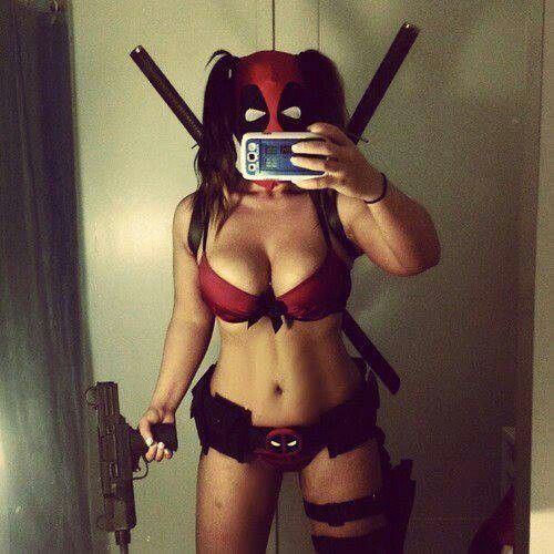 Lady Deadpool  Deadpool Cosplay, Deadpool Et Filles Cosplay-7976