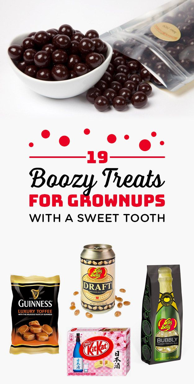 19 Boozy Treats For Grown Ups With A Sweet Tooth