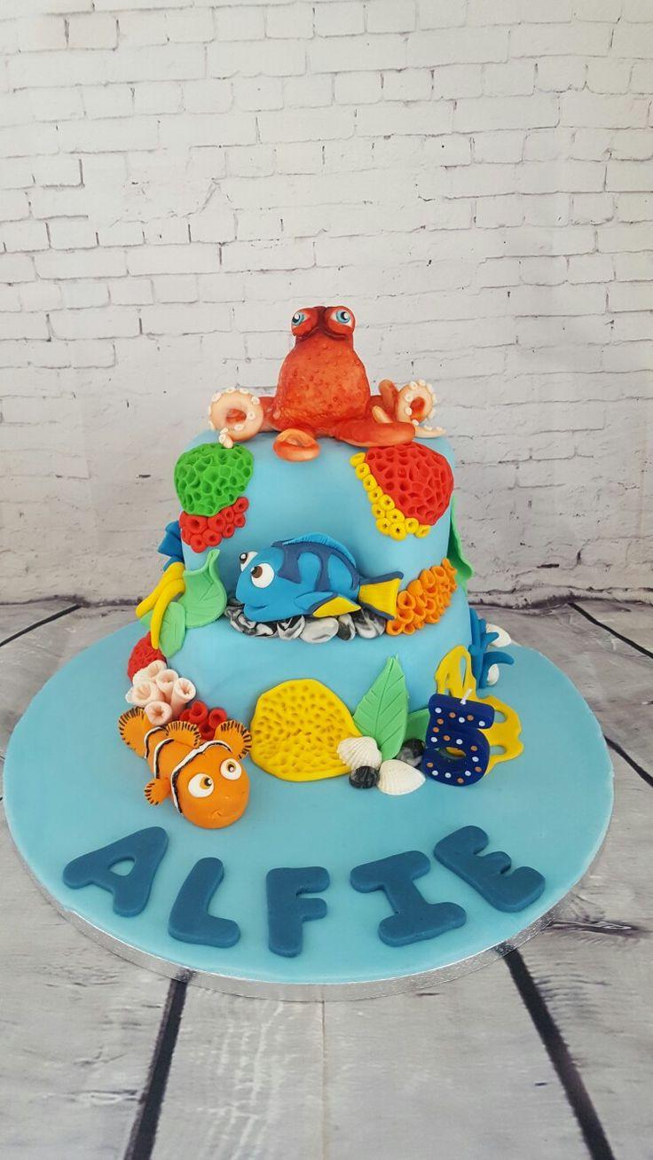 Finding Dory Birthday cake