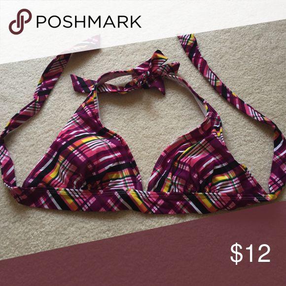 Purple triangle bikini top No tags but fits XL LW Swim Bikinis
