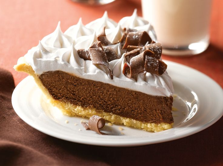 ... French Silk Pie on Pinterest | Silk com, Chocolate silk pie and French