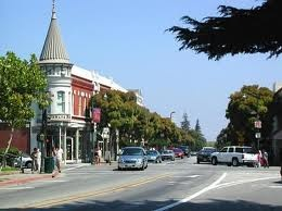 Downtown Los Gatos...Love our little town