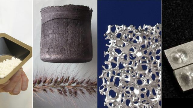 Seis nuevos materiales artificiales que prometen cambiar el futuro