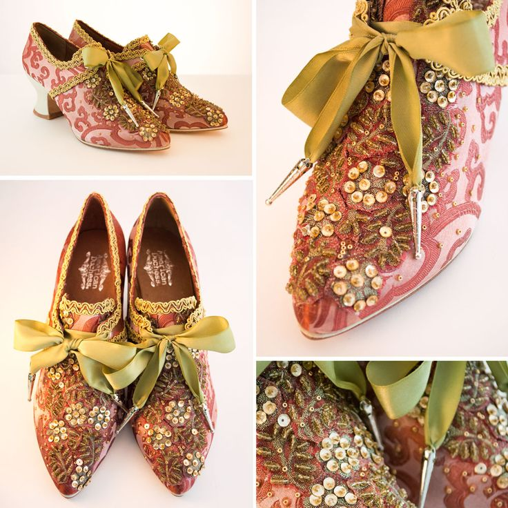 American Duchess: How To Make Your Own Pair of Couture Pompadour 18th Century Shoes