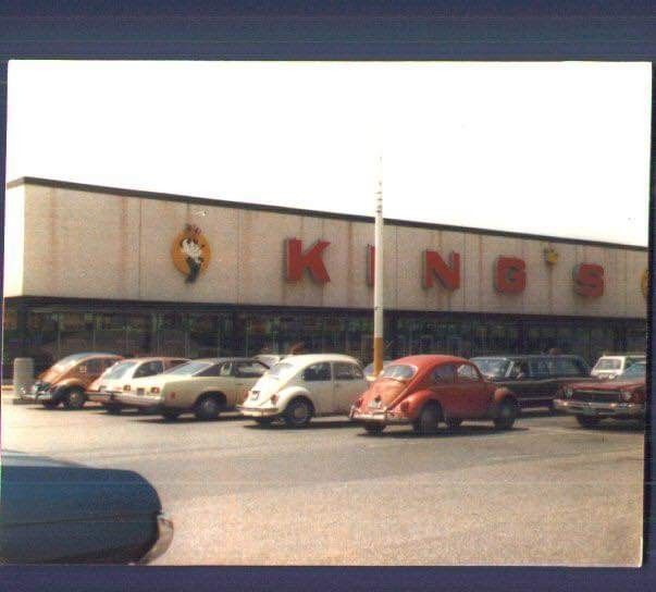 Kings Department Store Manchester Ct 1978 New England