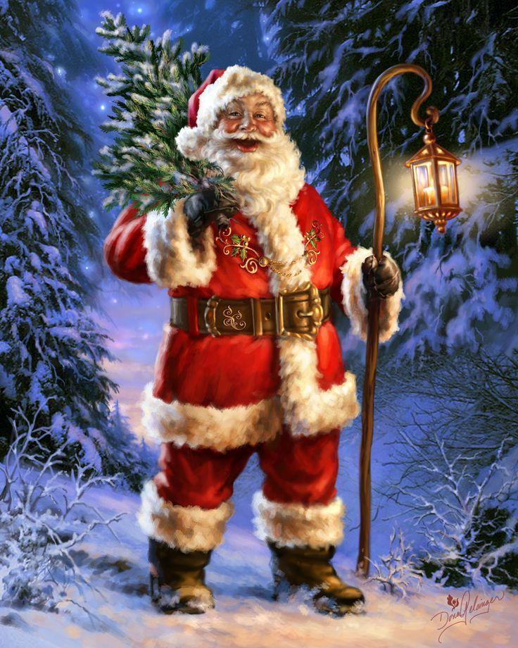 SANTAS CHRISTMAS TREE BY DONA GELSINGER: