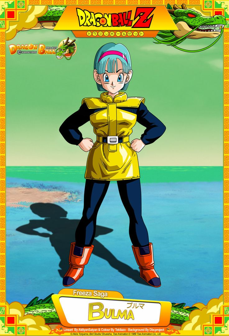 Dragon Ball Z - Bulma by DBCProject on DeviantArt - Visit now for 3D Dragon Ball Z shirts now on sale!