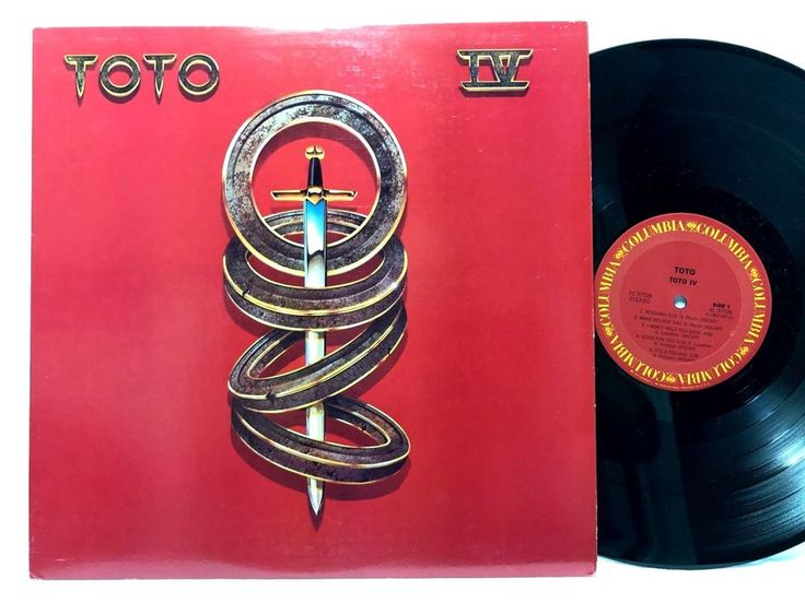Toto Toto IV 1982 Columbia Records FC 37728 LP Vinyl #Records