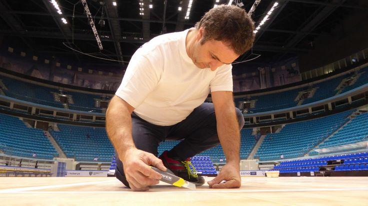 #astana #basketball #kazakhstan #sports #flooring #parquet #dallariva #portable #removable #floors