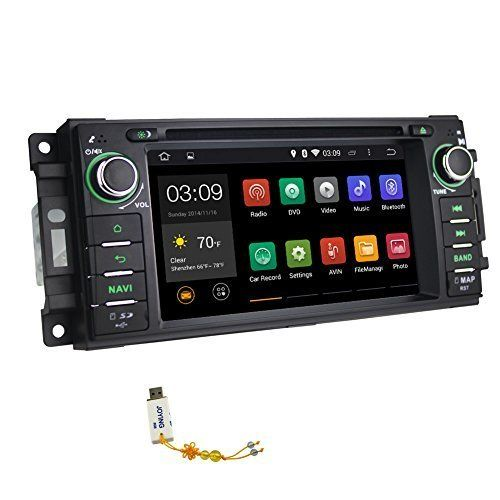 JOYING 6.2 Inch JK Jeep Wrangler Head Unit with Android/Apple Capability