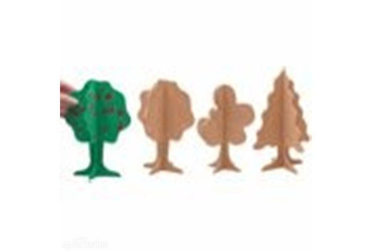 3D WOODEN TREE