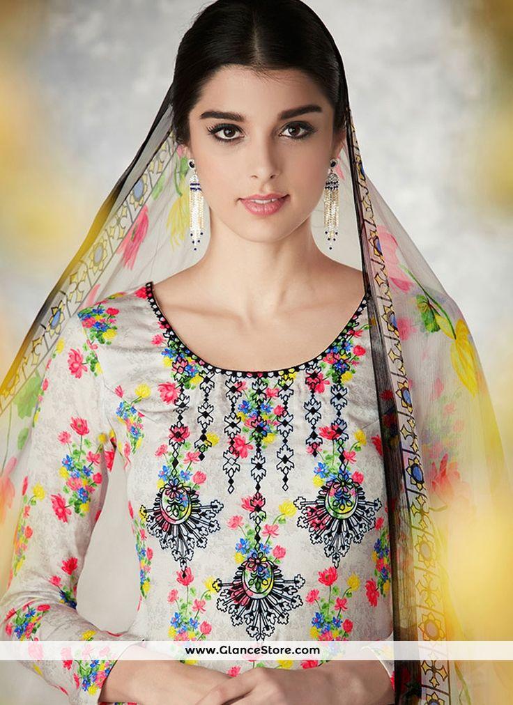 Exquisite Multi Colour Palazzo Designer Salwar Suit