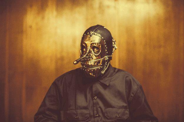 #3, Chris Fehn: | Here's A Closer Look At Slipknot's New Masks