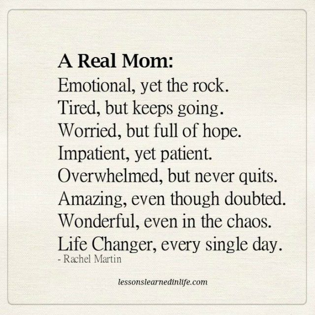 A Real Mom