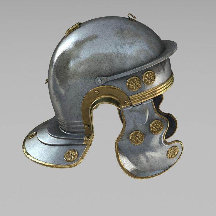 Roman war helmet