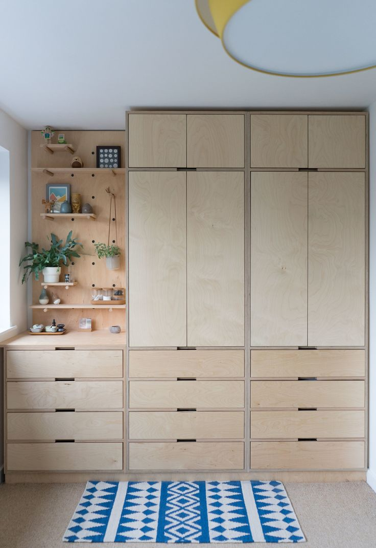 Plywood wardrobe. Plywood cabinet. Plywood furnitu…