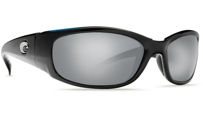Costa Del Mar Hammerhead 580G Black/Silver Mirror Polarized Sunglasses