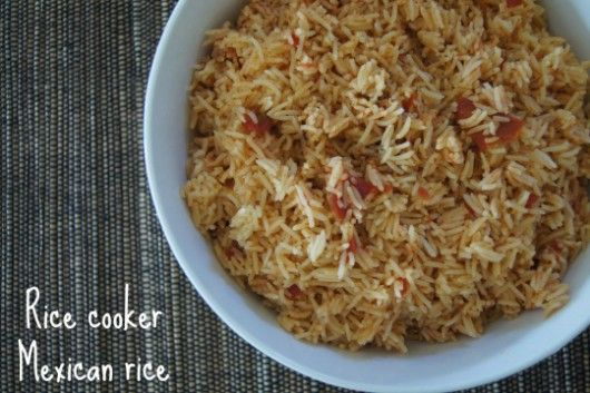 Rice cooker Mexican rice – Rajan Treadwell