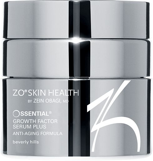 Ossential ® Growth Factor Serum Plus  A lightweight gel that strengthens skin, repairs aging skin, and protects against future signs of aging. Formulated for all skin types, even the most sensitive. Mild reaction.