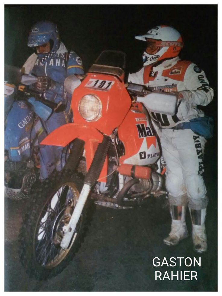 Gaston Rahier - Paris Dakar 1985
