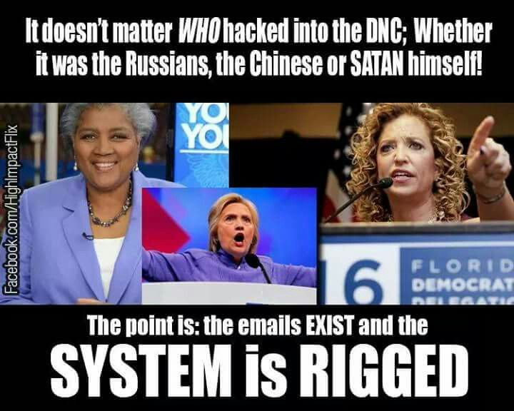 Claiming the RUSSIANS hacked the DNC is only a SMOKESCREEN!  Dems want people to believe Trump is in cahoots with Russia.  Hillary what was that Uranium deal?