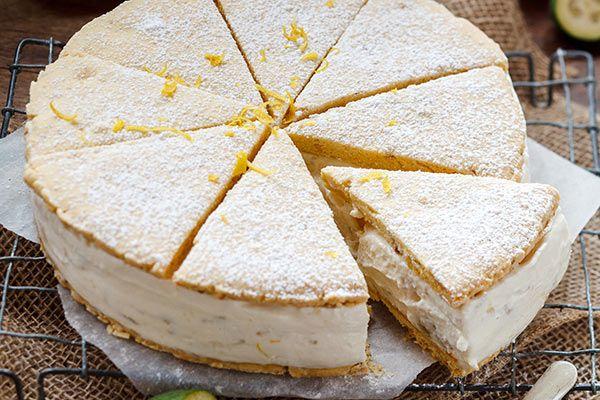 Walnut shortbread with feijoa and ricotta filling – Recipes – Bite