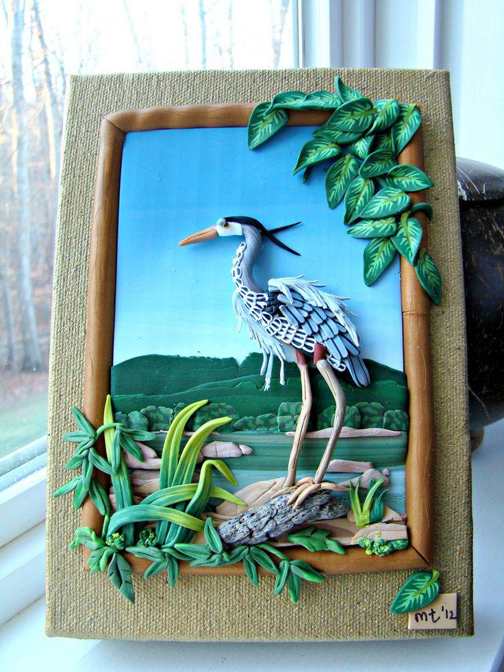 Great Blue Heron Fishing on the Rappahannock   by melissa_terlizzi